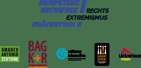 Logo Kompetenznetzwerk Rechtsextremismusprävention